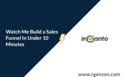 Need a Sales Funnels In 10 Minutes? Here's My Initial Invanto CartFog Demo